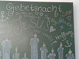 Religion erleben: Gebetsnacht in unserer Schule