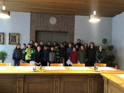 Klassenausflug in das Augsburger Kloster Sankt Stephan