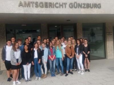 Zu Gast im Amtsgericht Günzburg