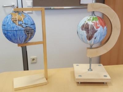 Wir basteln einen Globus