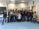 Das FranceMobil macht Halt an der Realschule Thannhausen