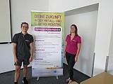 Info-Teams der AusbildungsOffensive-Bayern besuchten die 8. Klassen