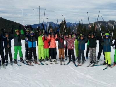Skilager der Klasse 7b in der Wildschönau
