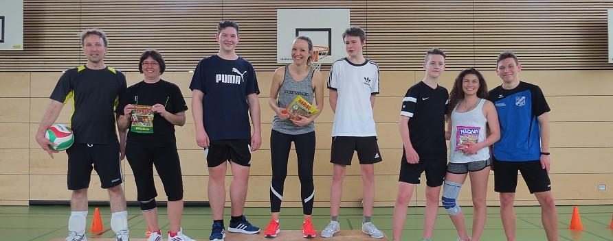 Volleyballturnier für alle Schüler/-innen und Lehrer/-innen am 11. Juli 2018