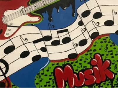 Kreativprojekt im Musikunterricht
