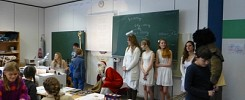 Nikolausbesuch in den 5. Klassen