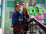 Junge Musiker an der Seite von Profis