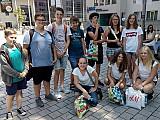Exkursion der Schülerfirma  in die City Galerie Augsburg