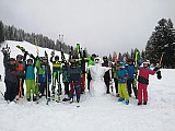 Schneevergnügen pur bei der 7a