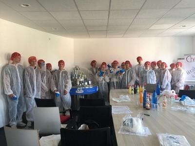 Besuch der 8. Klassen bei den Fleischwerken Zimmermann - eine sehr sympathische Firma