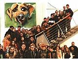 Die 8. Klasse der Realschule Thannhausen besuchte das Medienzentrum Augsburg