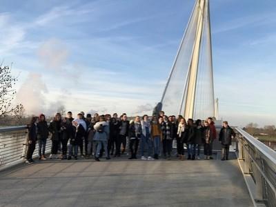 Deutsch-französische Begegnungswoche in Kehl & Straßburg - ein Ort, wo Deutschland und Frankreich sich berühren